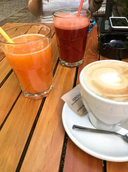 Juice and Coffee